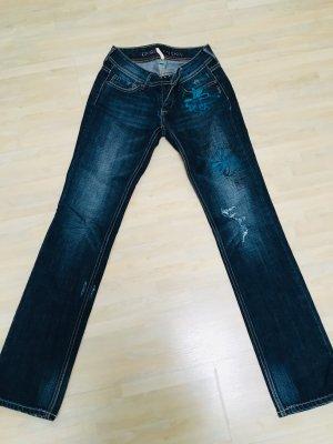 Closed Jeans a gamba dritta blu scuro