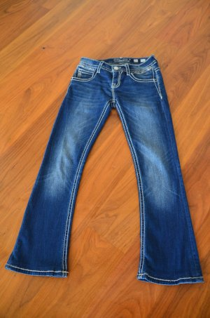 Miss Me Denim Flares blue cotton