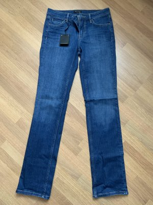 Massimo Dutti Boot Cut Jeans dark blue