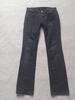 jeans massimo dutti grau neuwertig gr. m 38
