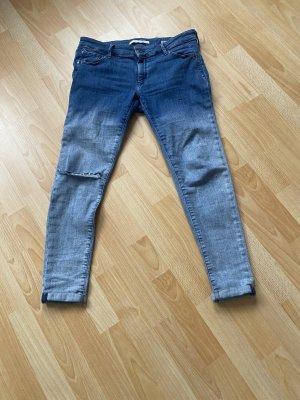 Mavi 7/8 Length Trousers blue-azure