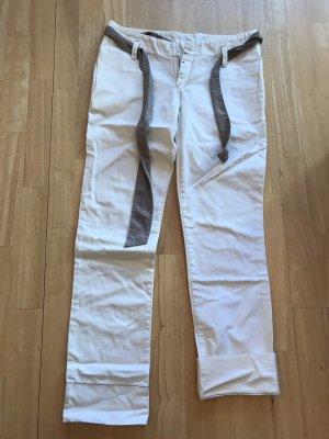 Mavi Jeansy typu boyfriend biały