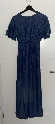 Made in Italy Maxi abito blu scuro
