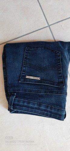 Michael Kors Jeans vita bassa blu