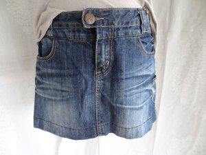 Fresh made Jupe en jeans bleu coton