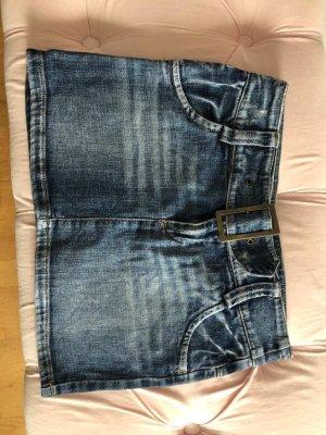 Gonna di jeans blu scuro