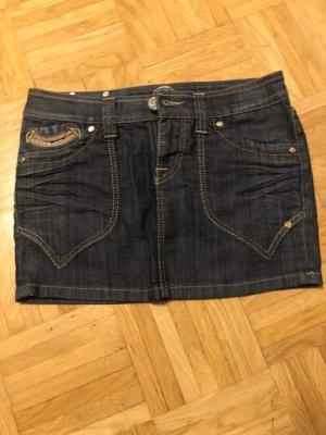 Jeans-Minirock 34