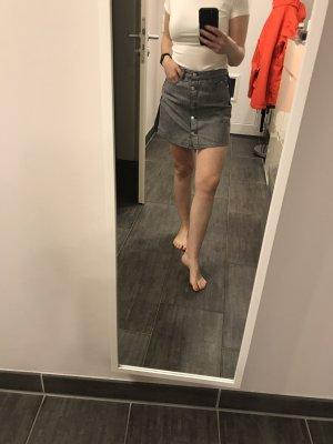 Gas Denim Skirt azure-dark blue