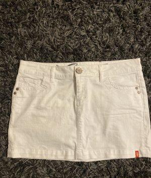 edc by Esprit Gonna di jeans bianco