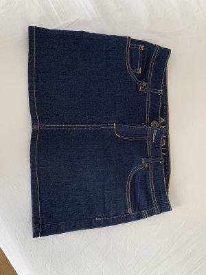 Jeans Minirock Gr 40