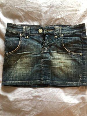 Jeans-Minirock in Gr. 34 - perfekt für den Sommer
