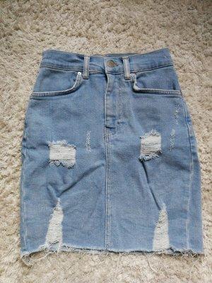 Jeans Minirock von Pull&Bear