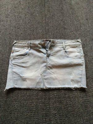 Jeans Minirock von Zara