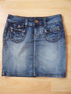 Jeans-Minrock,Marke: Only,True Retro,Gr.W26,Used-Waschung, neuwertig