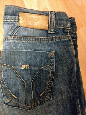 Miss Sixty Jeans taille basse bleu