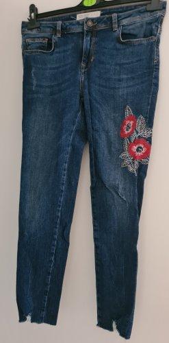 Zara Basic Stretch Jeans slate-gray