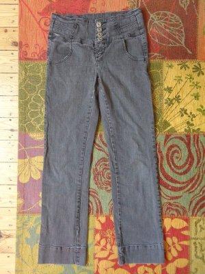 Arizona Jeans coupe-droite gris anthracite-noir