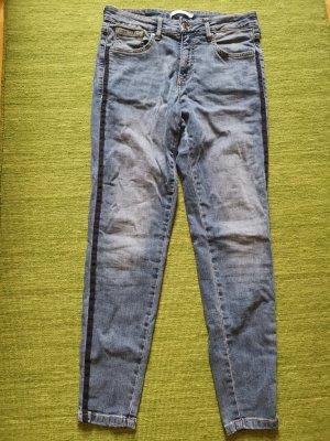 B.young Dopasowane jeansy chabrowy