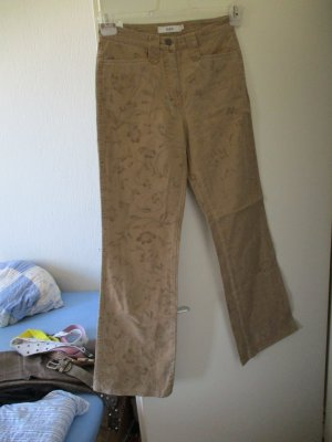 Biba Jeans taille haute brun sable
