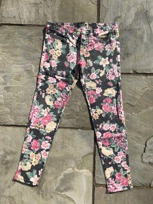 Jeans mit Blumen  Billabong Gr. 30