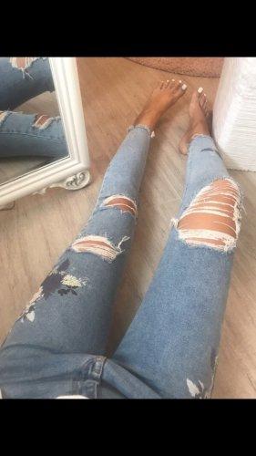 New Look Wortel jeans lichtroze-azuur