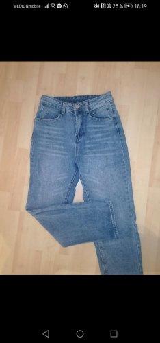 jeans mit breitem bein
