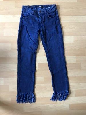Reiko 7/8-jeans blauw