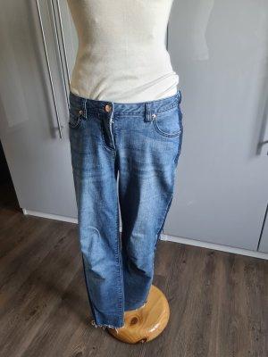 Aniston Jeans carotte bleu-bleu foncé