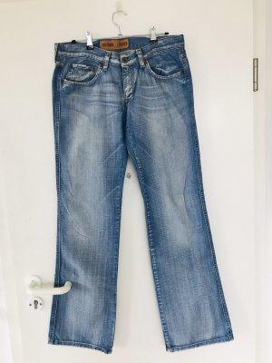 Freeman t. porter Jeans coupe-droite bleu