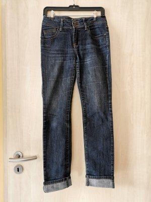 Jeans mit geraden Bein