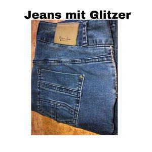 Jeans mit Glitzer