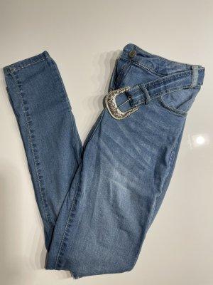 Parisian Jeans a sigaretta blu