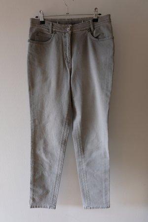 Madeleine High Waist Jeans grey-light grey cotton