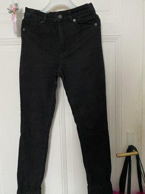 Jeans mit hoher Taille von Monki in Größe 26