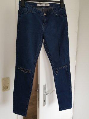 Denim Co. Hoge taille jeans blauw-donkerblauw