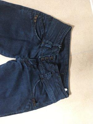 Zara Trafaluc Dopasowane jeansy ciemnoniebieski