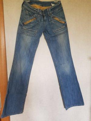 Jeans mit lockerem, geradem Bein von Pepe Jeans