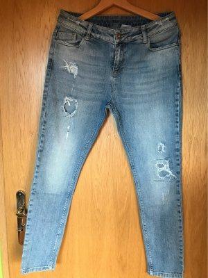 Notice Jeans a 7/8 blu fiordaliso