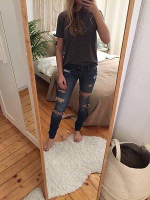 Hollister Jeans skinny blu scuro
