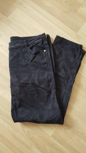 Basler Jeans coupe-droite brun pourpre