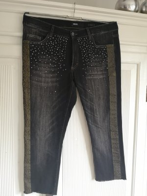 Angels 7/8 Length Jeans anthracite-khaki
