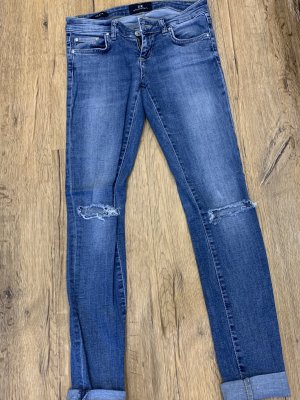 LTB Jeans taille basse gris ardoise