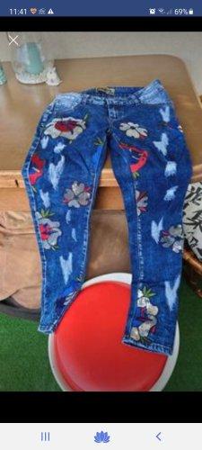 / Jeans stretch bleu