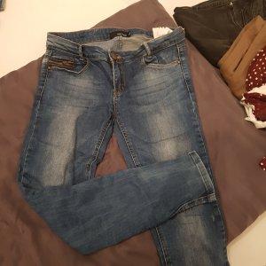 jeans mit reisverschluss