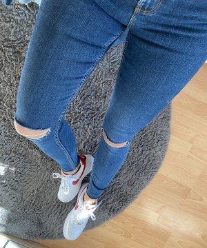 New Look Skinny Jeans dark blue-blue