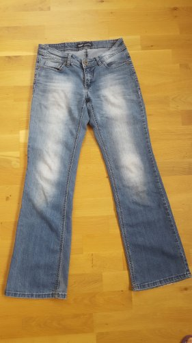 Arizona Pantalone a zampa d'elefante blu acciaio
