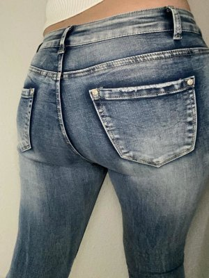Low Rise jeans lichtblauw