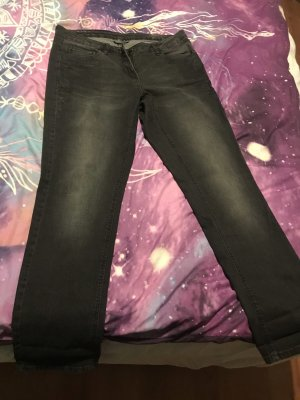 Jeans mit Seitenmuster
