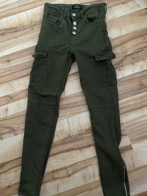 Jeans mit seitlichen Taschen