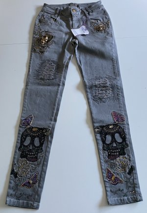 Jeans mit Straß